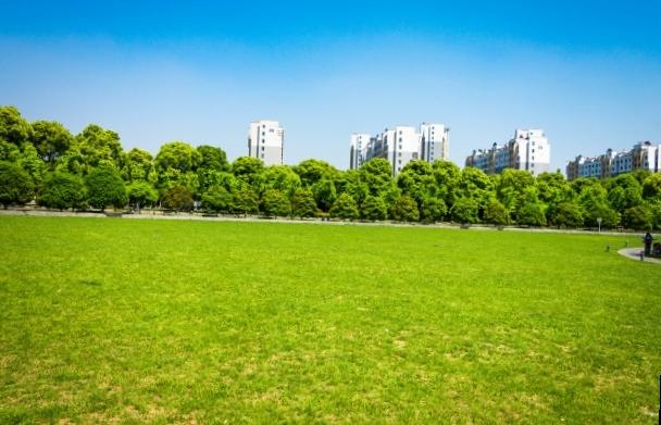 Des centaines d'espaces verts entretenus